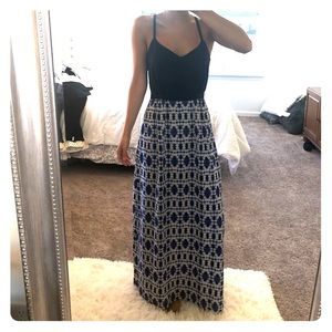 J. Crew floor length Event/Maxi dress